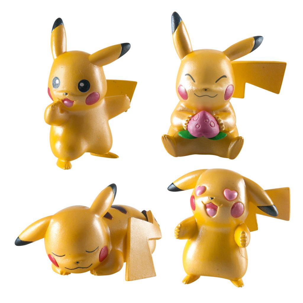 Pokemon Pack 4 Figuras de Pikachu 20 Aniversario