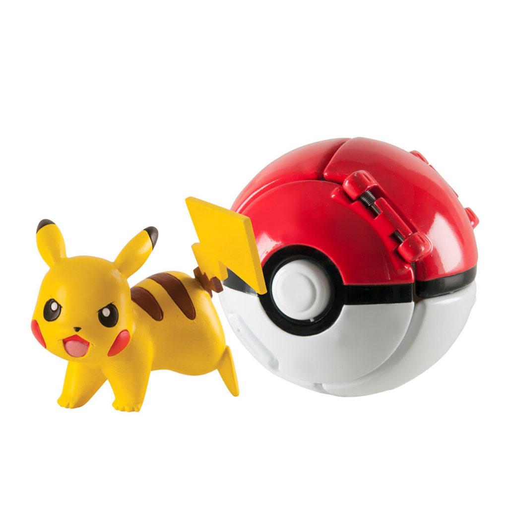 Pokemon Throw N Pop Surtido