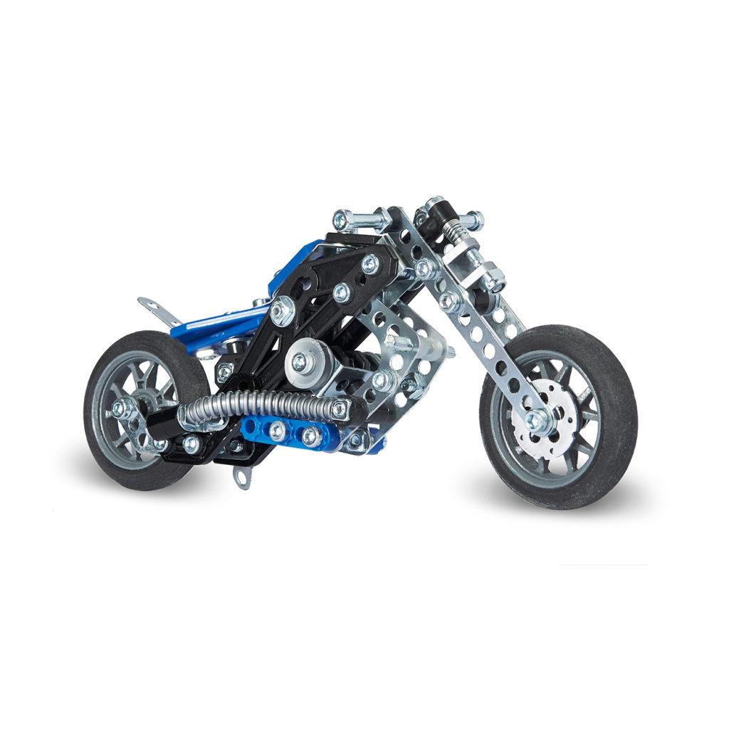 Meccano Multimodelos 5 Modelos Moto