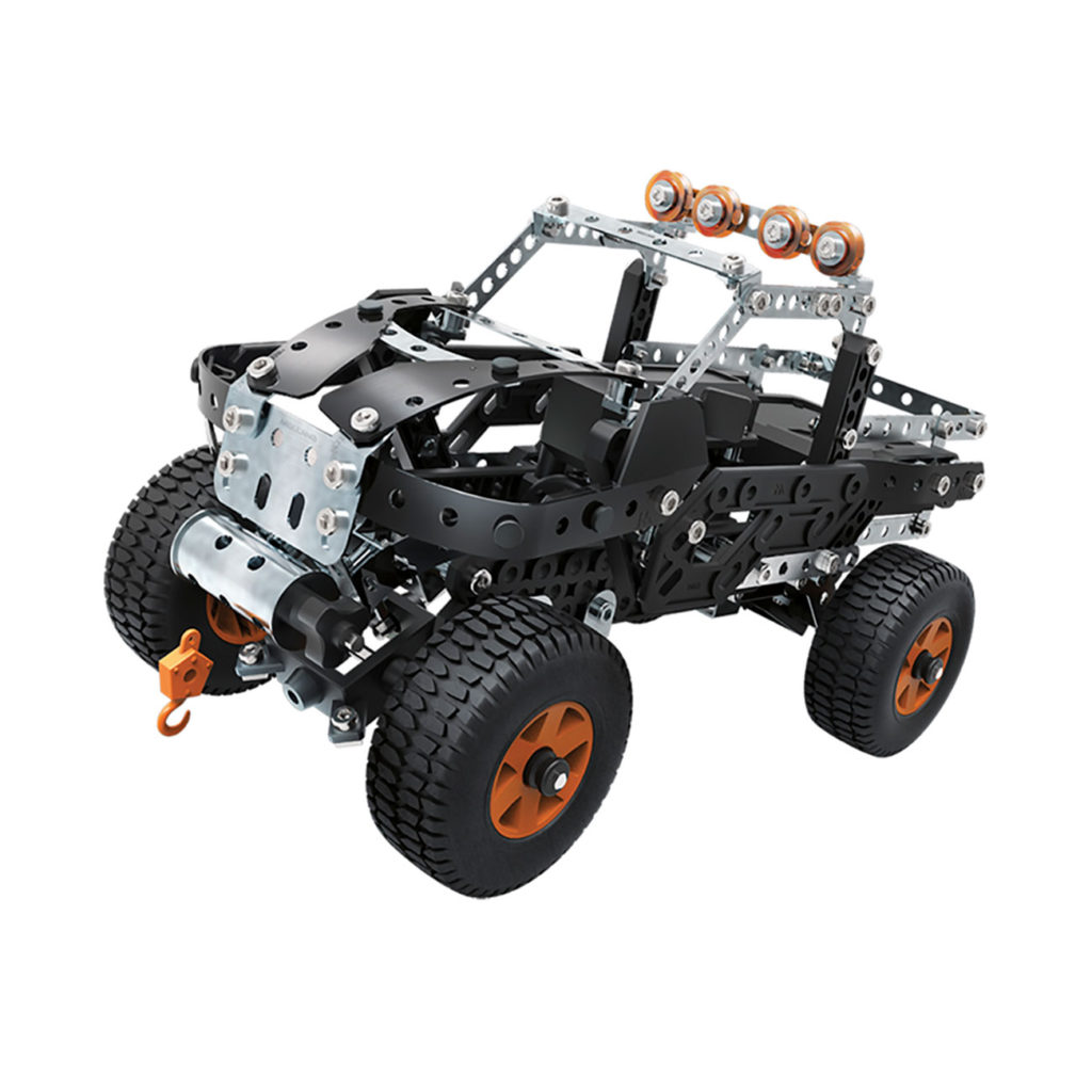 Meccano Multimodelos 25 Modelos 4X4 Truck