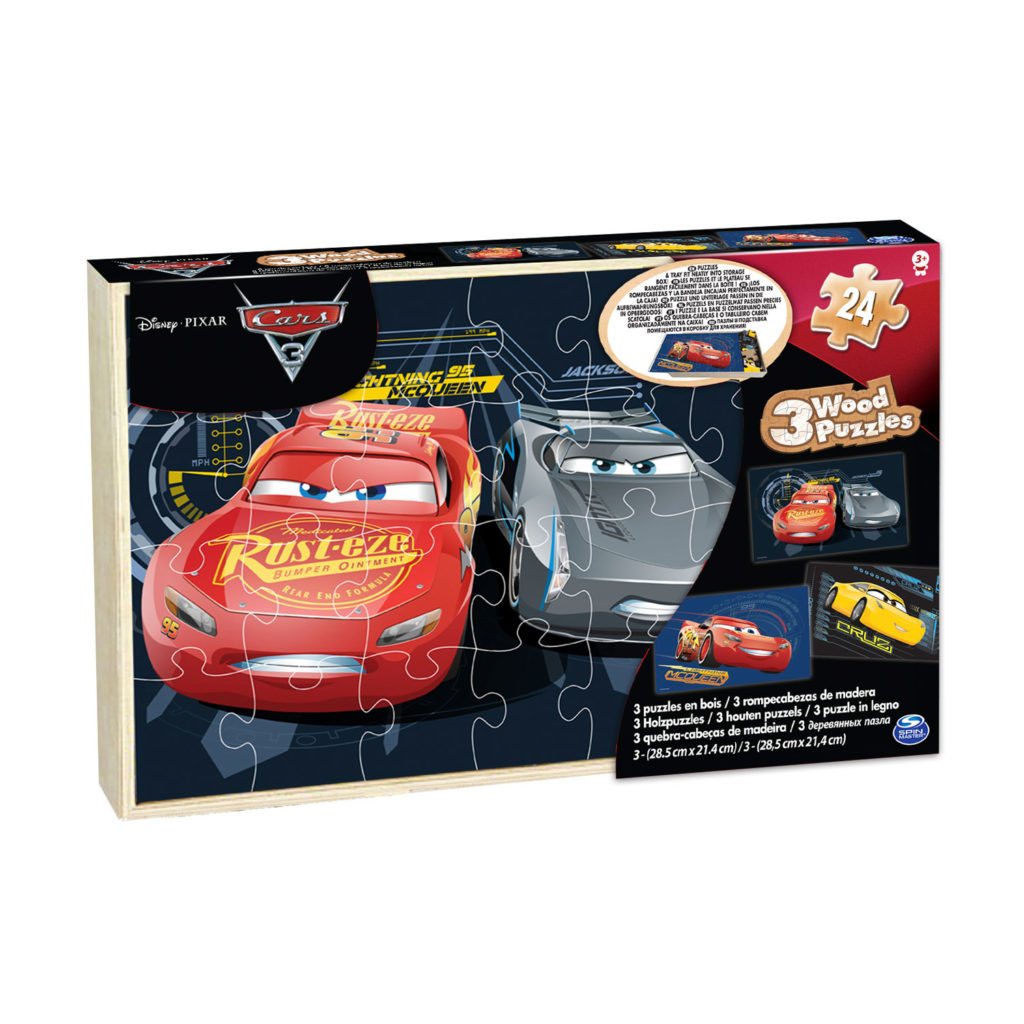 Cars3 3 Wood Puzzle