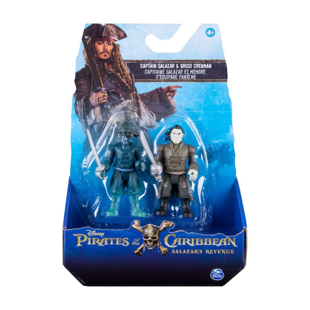 Piratas del Caribe Pack de 2 Figuras