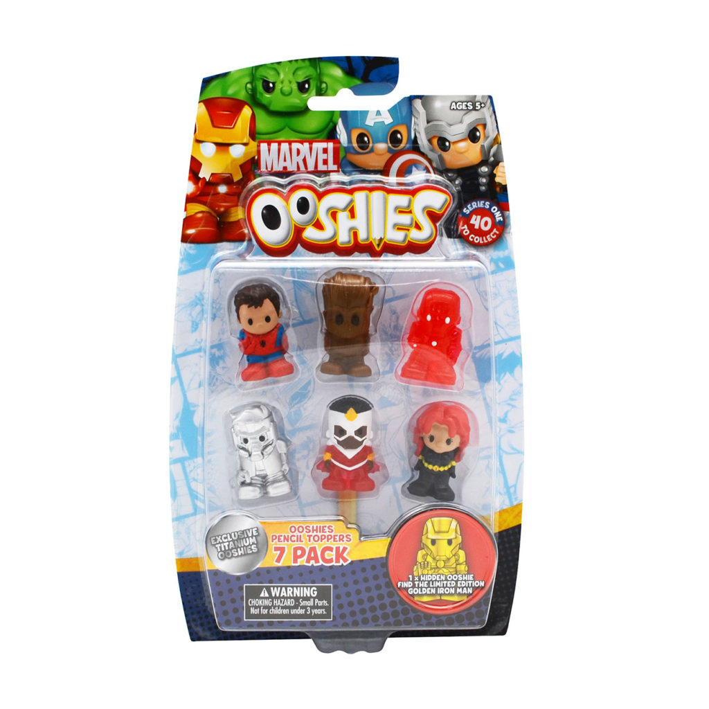 Ooshies Marvel – Pack 7 Personajes