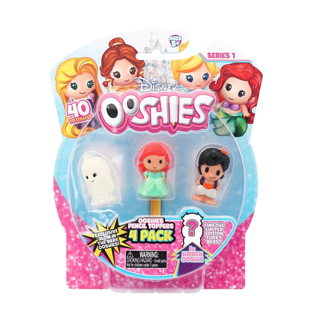 Ooshies Princesas Disney – Pack 4 Personajes