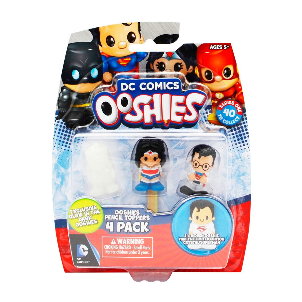 Ooshies DC Comics Pack 4 Personajes