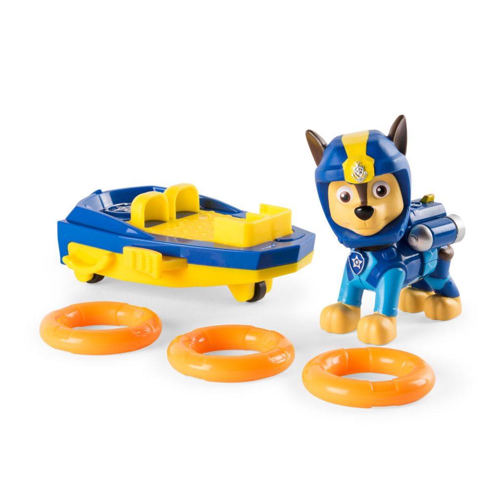 Patrulla Canina Sea Patrol Figura Lanzador