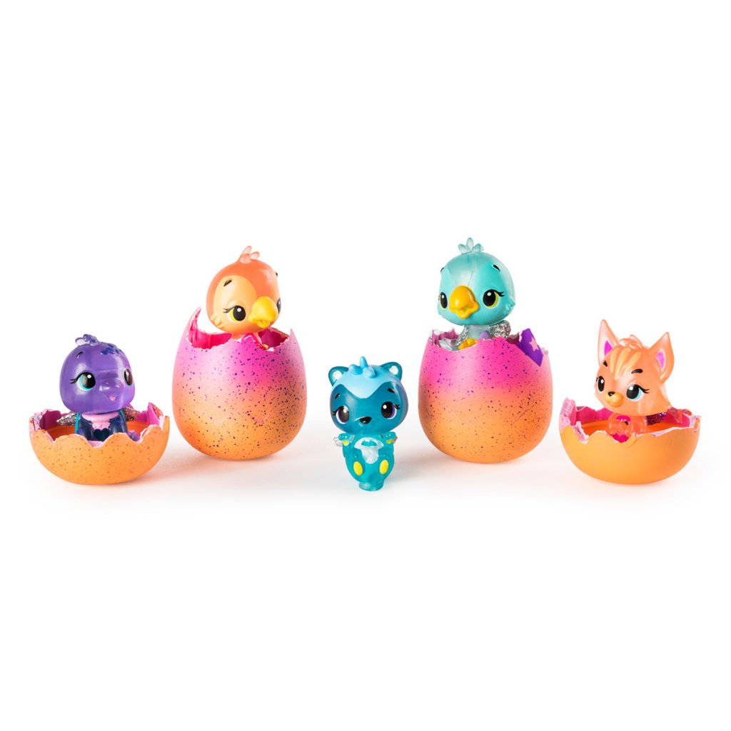 Hatchimals Figura Coleccionable 4 Figuras S4