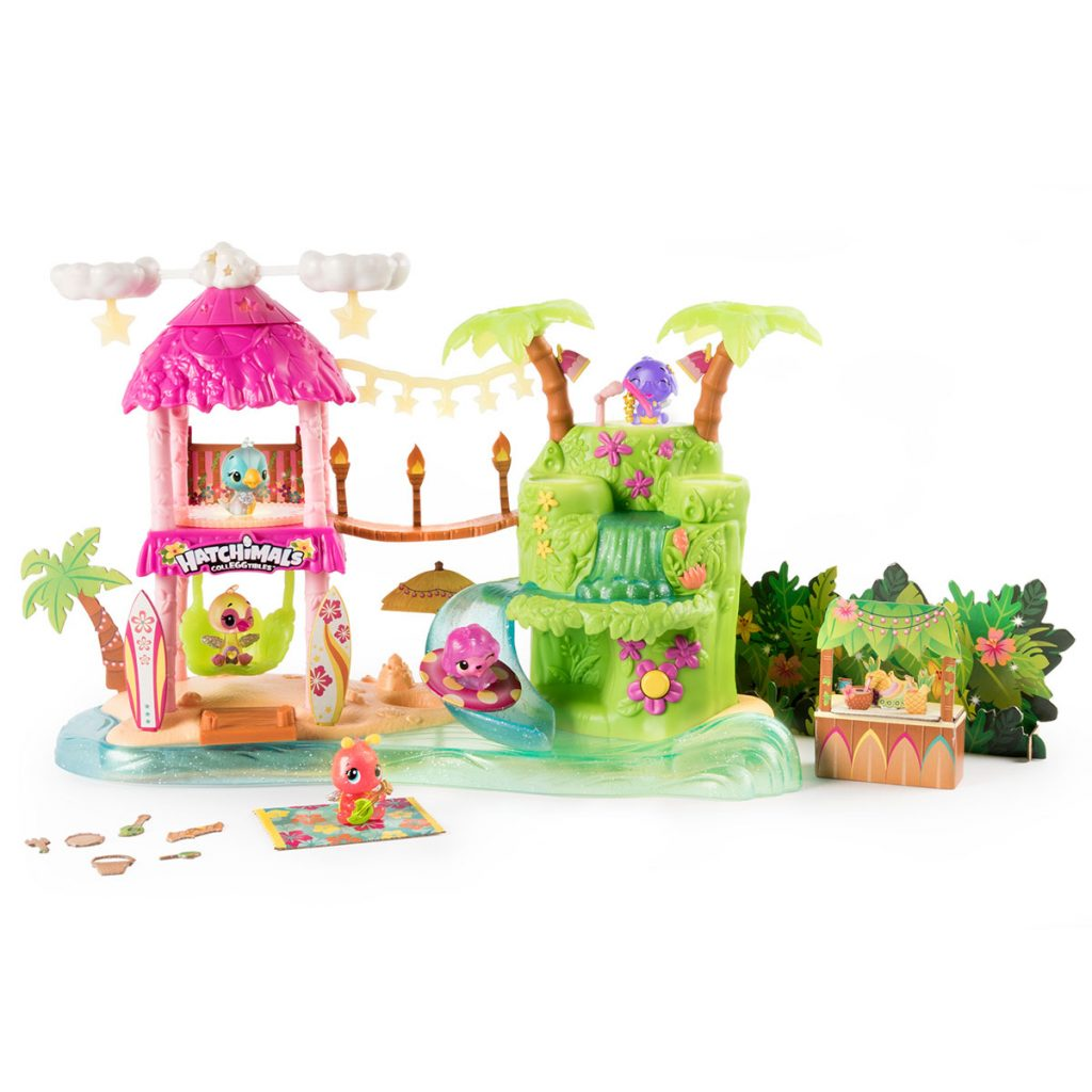 Hatchimals Isla Luminosa Playset