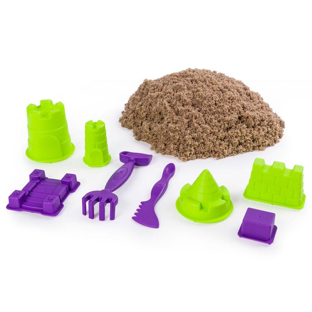 Kinetic Sand Construye tu Reino de Arena