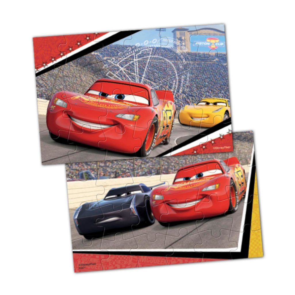 Cars3 Lenticular Puzzle In Tin