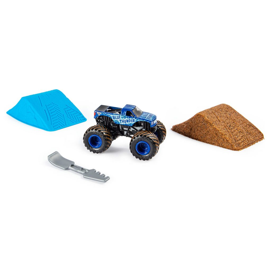 Monster Jam Kinetic Dirt Starter set