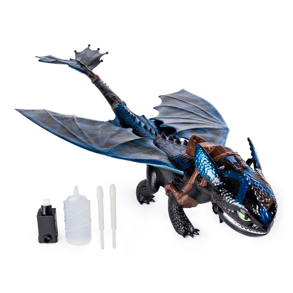 Dragón Lanzallamas Desdentado
