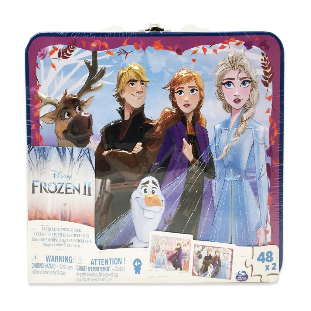 Frozen 2 Lenti Puzzle in Tin