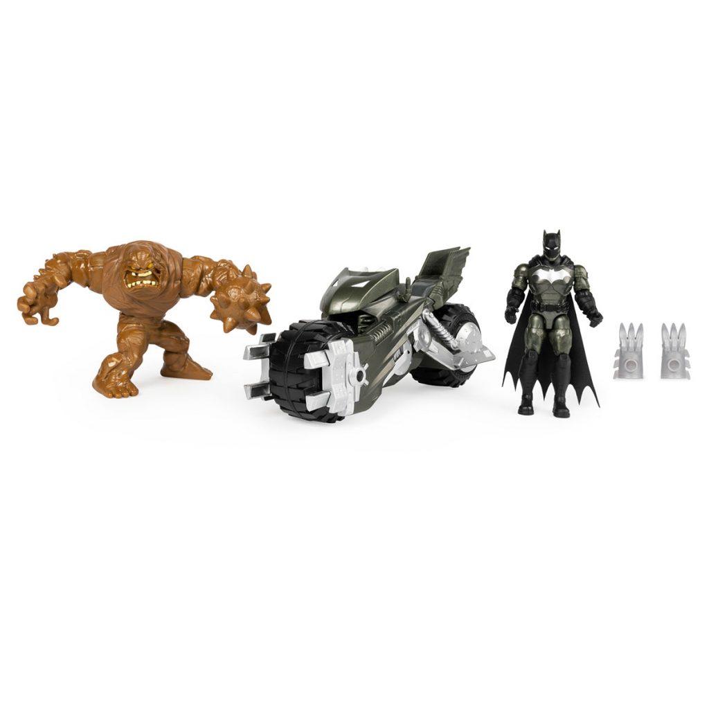 Batman Batmoto con 2 Figuras 10cm
