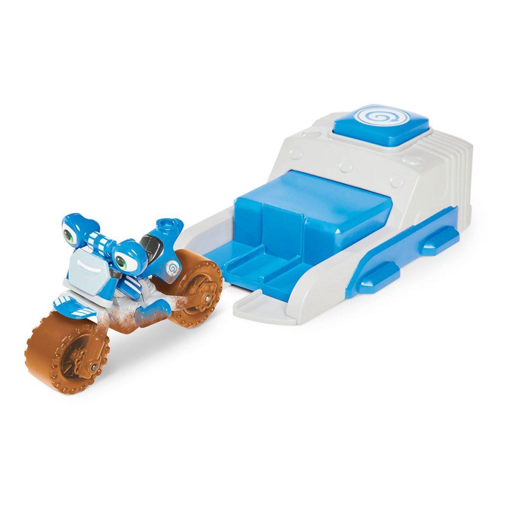 Ricky Zoom Lanzador y vehículo sdo.