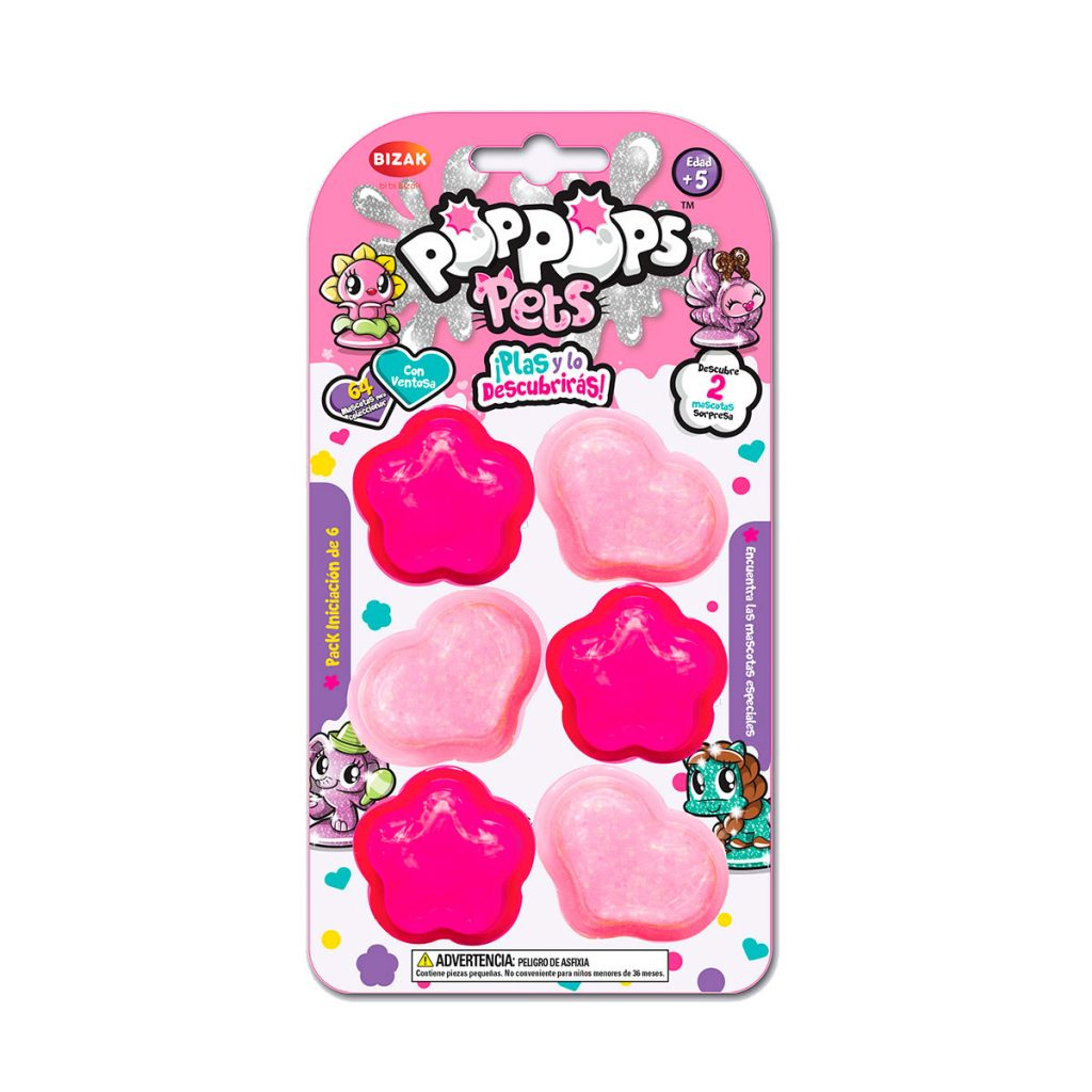 Pop Pops Pets Pack Starter de 6