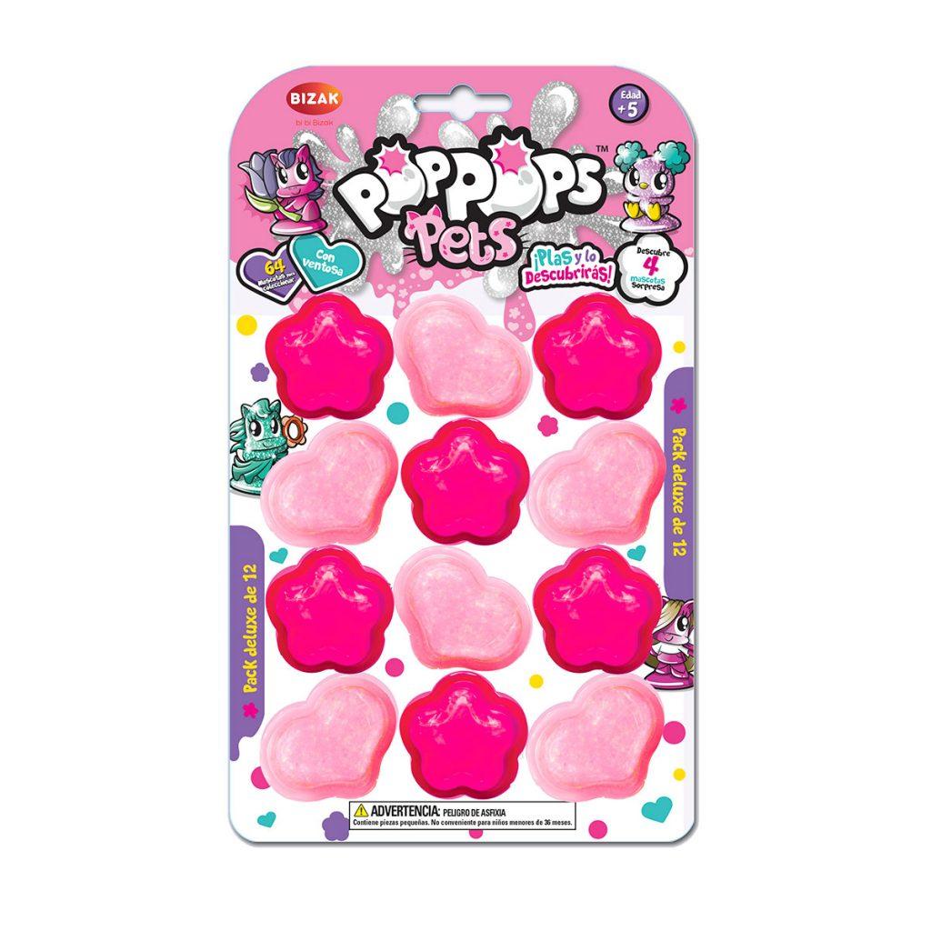Pop Pops Pets Pack Deluxe de 12