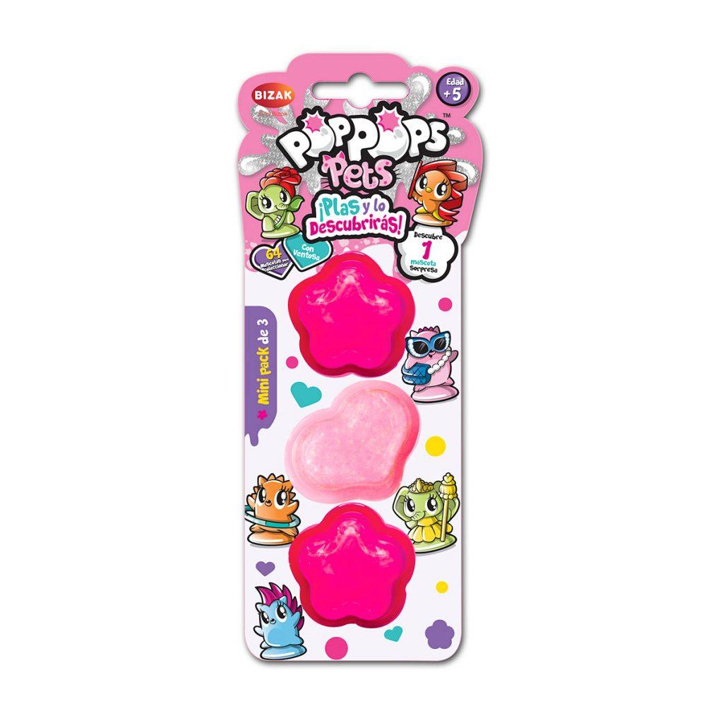 Pop Pops Pets Mini Pack de 3