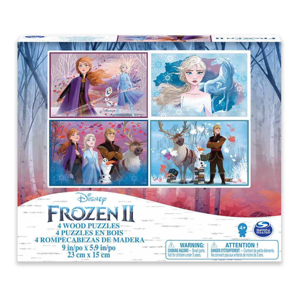 Frozen 2 4 Puzzle de madera
