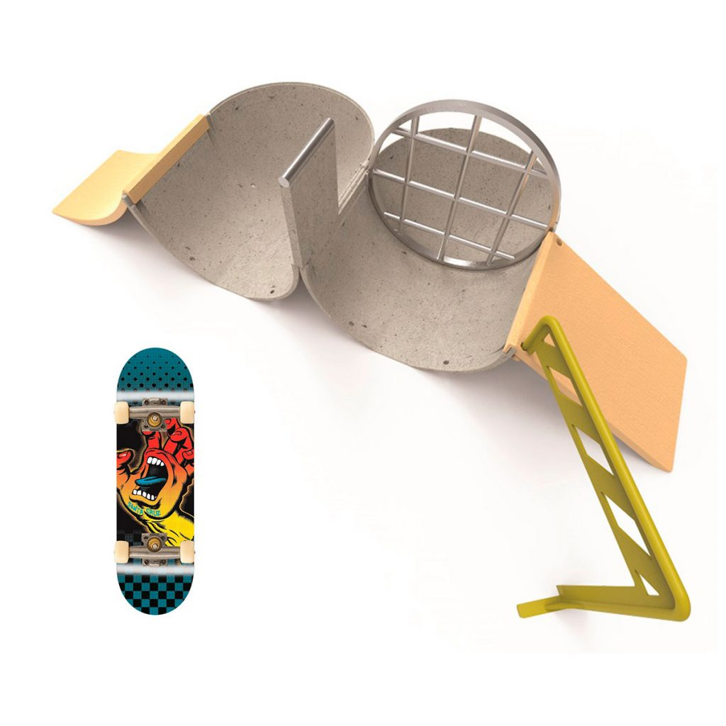Tech Deck Transformer Pipeline Ramp