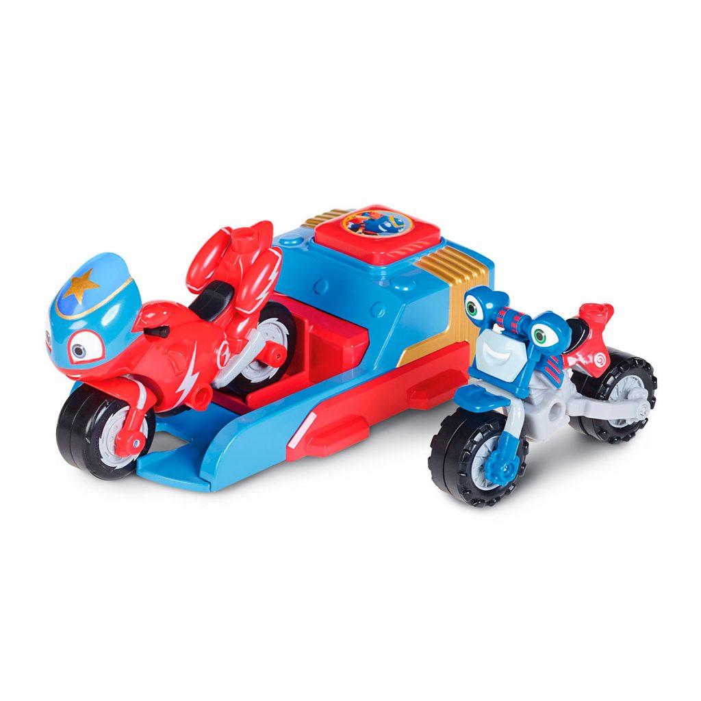 Ricky Zoom Pack Lanzador y 2 Vehículos
