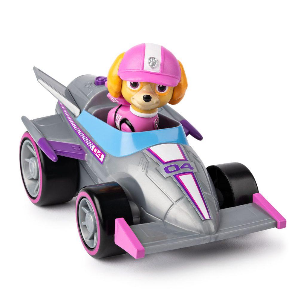 Patrulla Canina Vehículo y Figura Race&Go