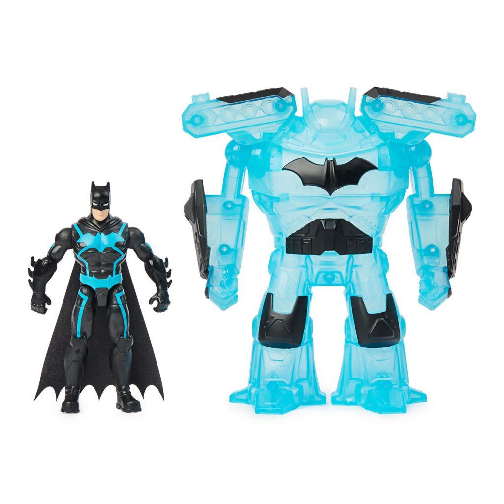 Batman Figura 10cm+Armadura Bat Tech