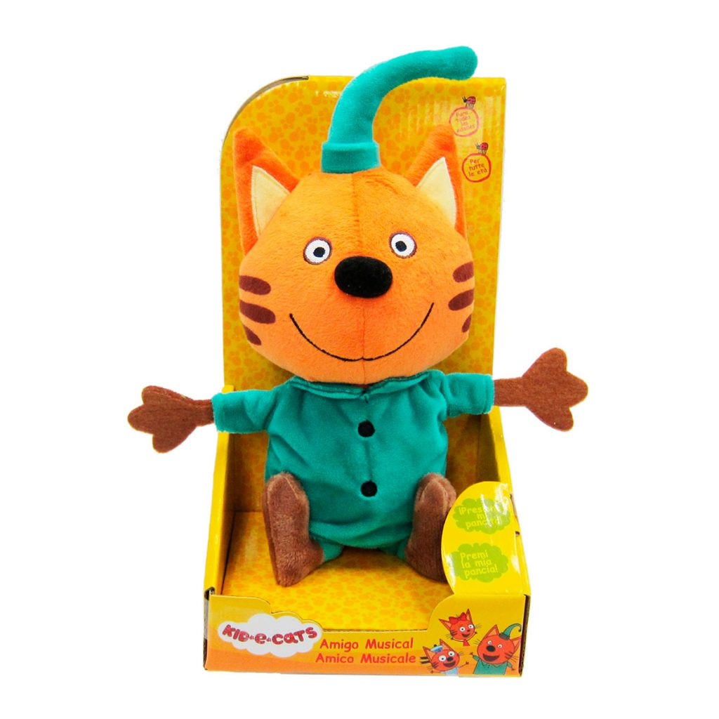 Kid-E-Cats Peluches Musicales 20cm