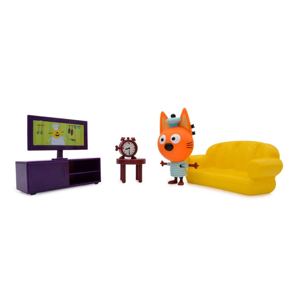 Playset Habitaciones Kid-E-Cats con Figura
