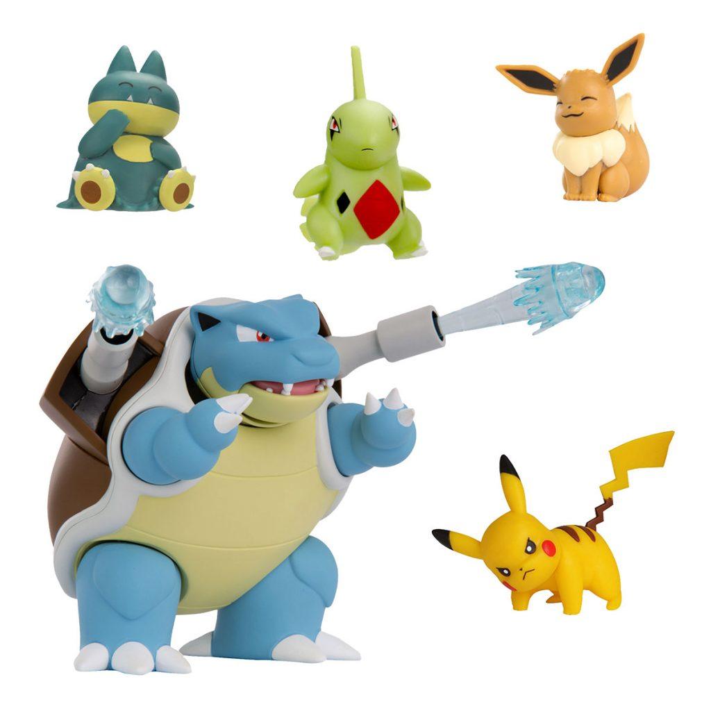 Pokémon Figura de Combate Pack de 5